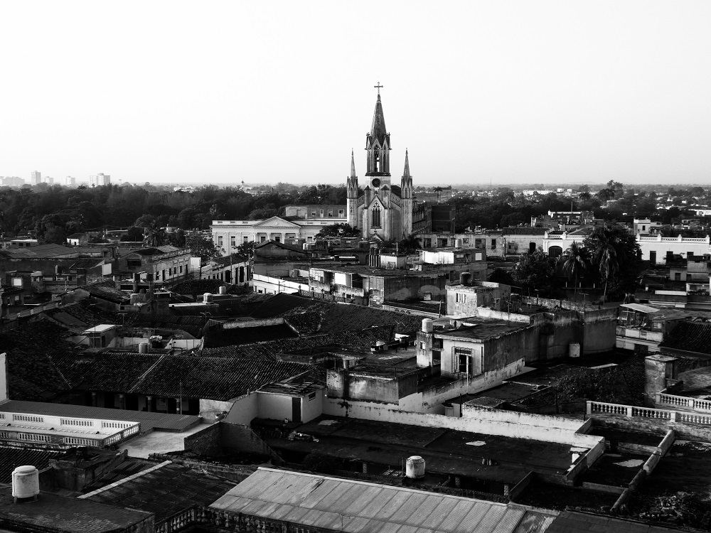 Of Camagüey, in black and white