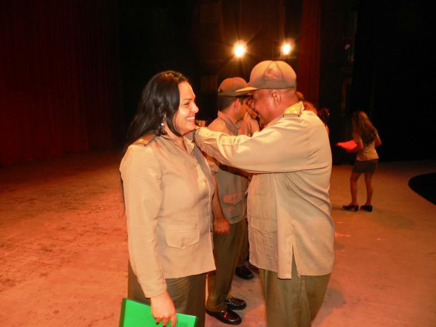 Realzan en Camagüey papel del Ejército Juvenil del Trabajo a sus 44 años (+Fotos)