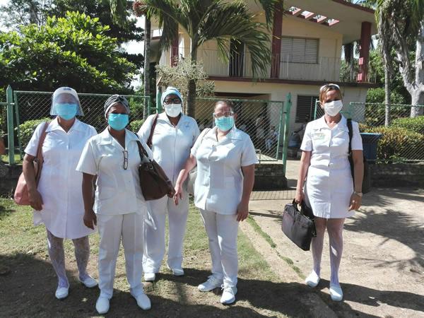 Desde Santa Cruz del Sur, enfermeras camagüeyanas por la vida (+ Fotos)