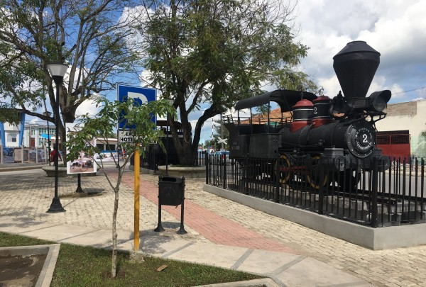 The railway history is exhibited in Camagüey