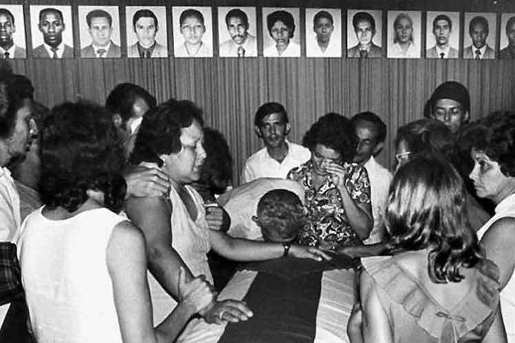 Crimen de Barbados: herida abierta por el terrorismo desatado contra Cuba