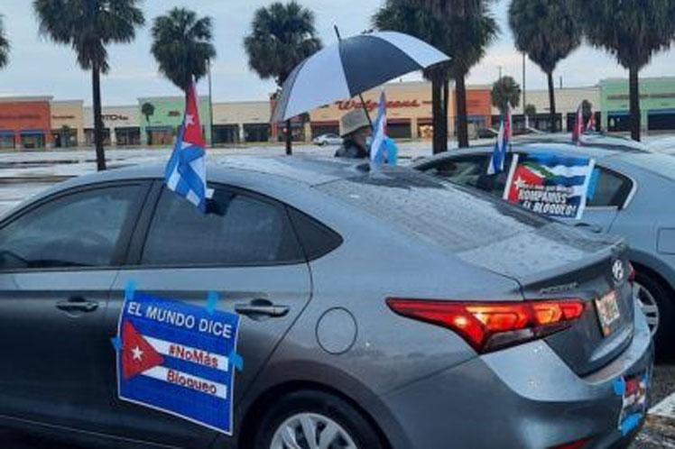 Convocan en EE.UU. a caravana contra sanciones a Cuba