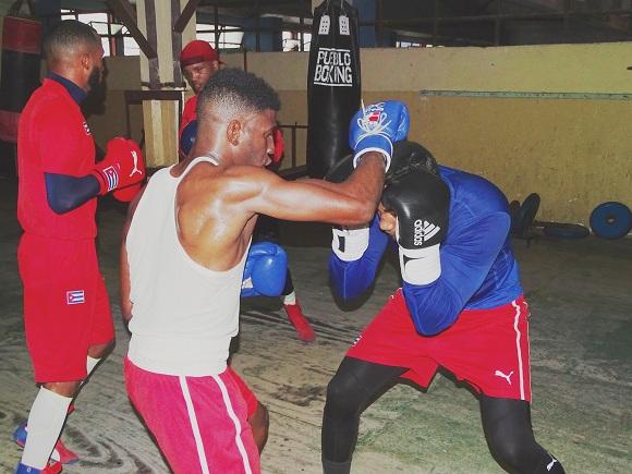 Valoran de muy positiva base de entrenamiento del Boxeo cubano en Camagüey