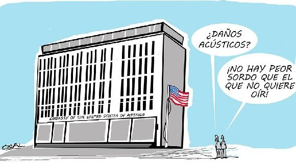 Investigación del Ministerio del Interior demuestra falta de evidencias sobre ataque sónico a diplomáticos estadounidenses