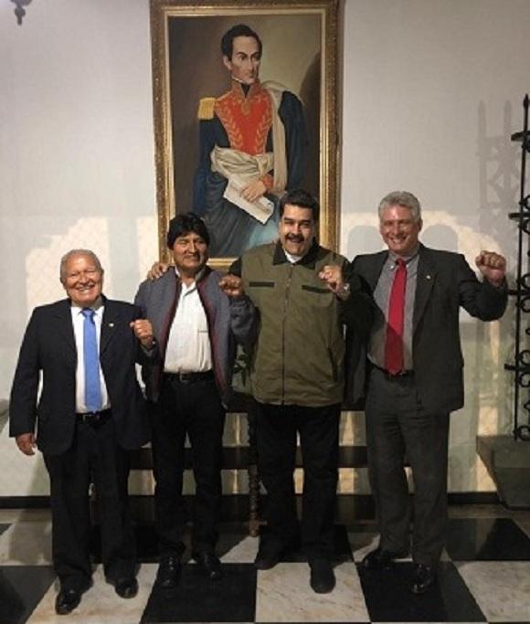 Díaz-Canel: Venimos a Venezuela a demostrar la solidaridad de Cuba con Maduro