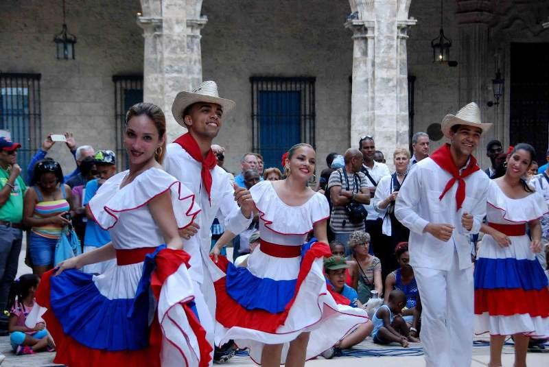 Ballet Folclórico de Camagüey en La Habana Vieja