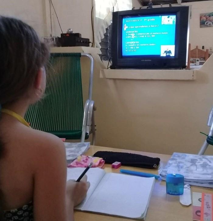 Amplia aceptación de las teleclases en familias camagüeyanas (+ Audio)