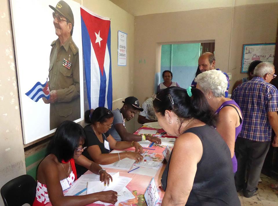 Buena marcha de comicios electorales en Camagüey pese a la lluvia (+ Audio)