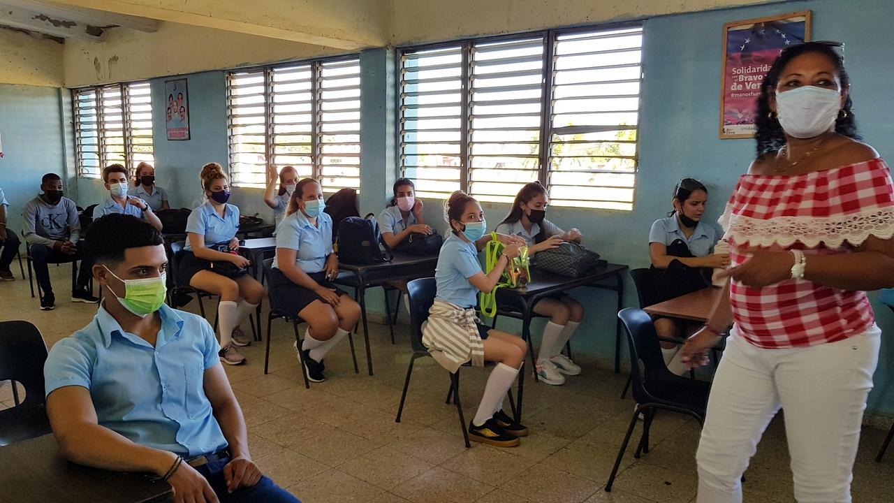 Alegría en las aulas camagüeyanas