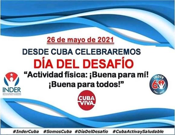 Convocan en Cuba a carrera-caminata por el Día del Desafío