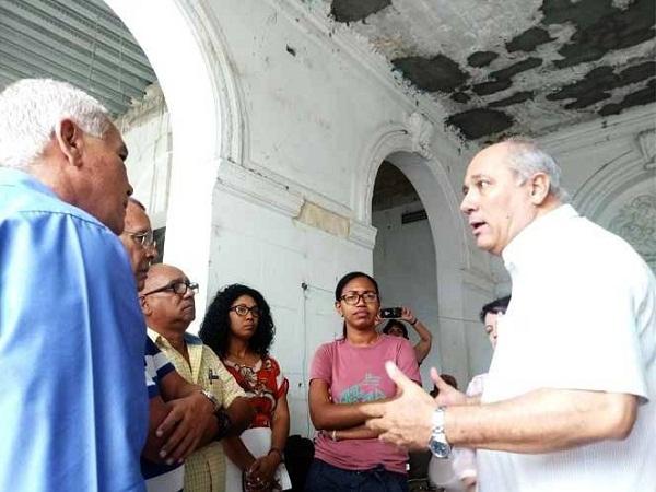 Ministro cubano de Cultura destaca relevancia del teatro auditorium Amadeo Roldán