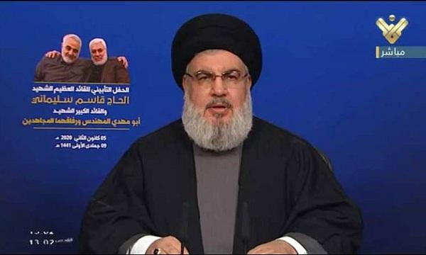 Jefe de Hizbulah asegura que muerte de Soleimani abre una nueva era
