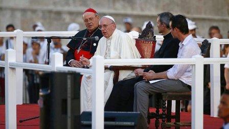 El Papa convoca a jóvenes cubanos a crear cultura del encuentro