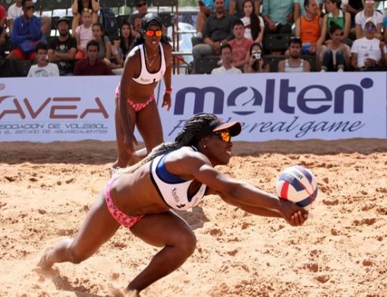 Duplas cubanas debutan hoy en segunda parada de voleibol de playa en Cancún