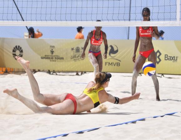Voleibolistas cubanas desde hoy en tercera parada de Cancún