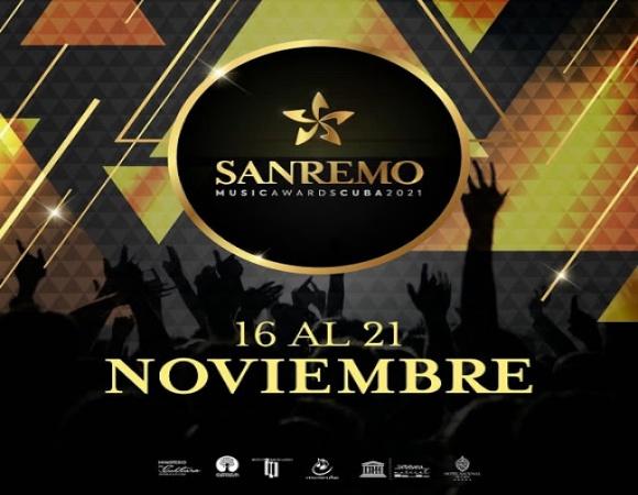 Concurso San Remo Music Awards convoca a las mejores voces de Cuba