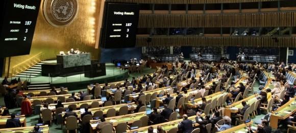 Cronología del apoyo mundial a la demanda de Cuba contra el bloqueo