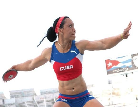 Lidera discóbola cubana Yaimé Pérez su prueba en el listado mundial