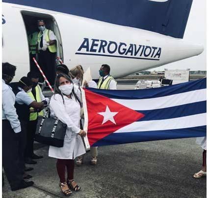 En Trinidad y Tobago brigada de enfermeras cubanas