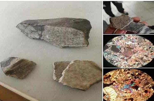 Primeras imágenes al microscopio de meteorito caído en occidente cubano