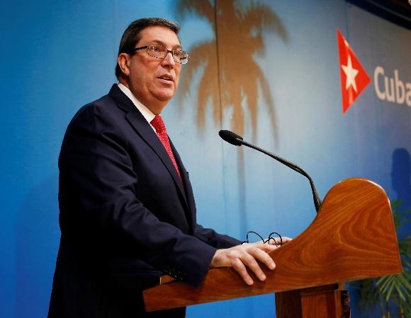Bruno Rodríguez denounces the impact of the U.S. blockade on food security