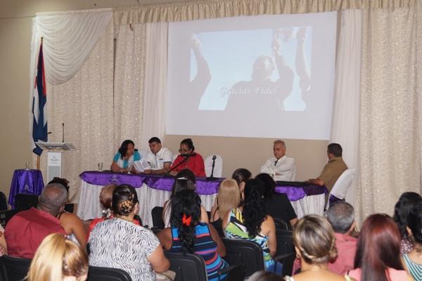 Estudiantes de Sierra de Cubitas comprometidos con el legado de Fidel
