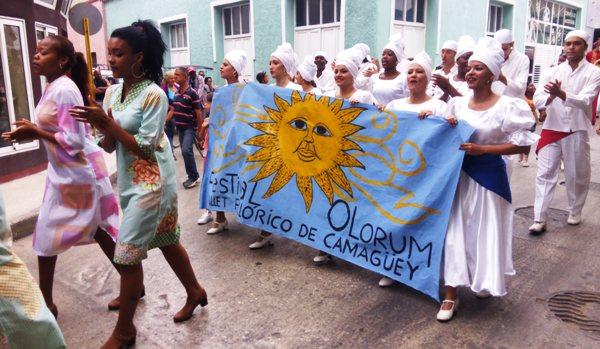 El Festival Olorum toma las calles de Camagüey (+ Video y Fotos)