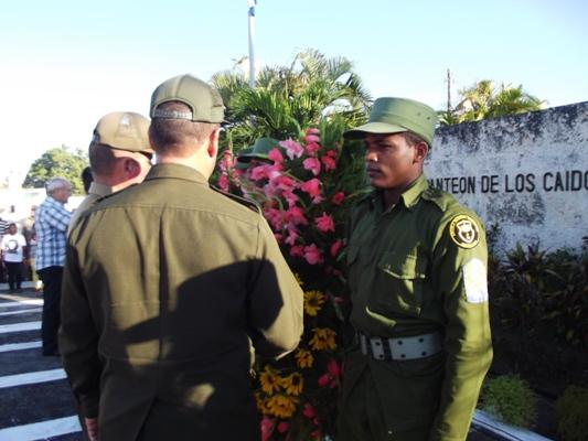 Homenaje en Camagüey a los caídos en defensa de la libertad (+ Fotos y + Audios)