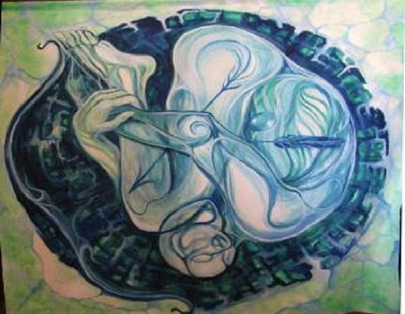 Joven artista cubana de la plástica salda deuda con sus orígenes