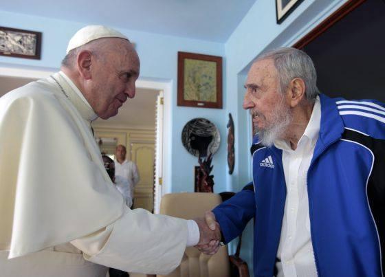 Fidel y Francisco se reunieron en La Habana, confirma el Vaticano