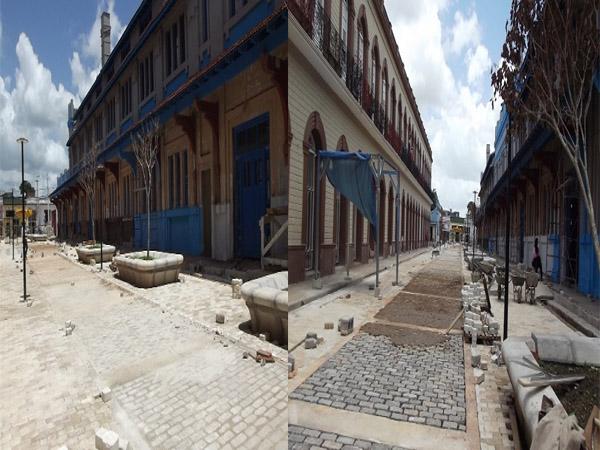 Este será el primer boulevard de la ciudad de Camagüey/ Avanzan las obras de remodelación