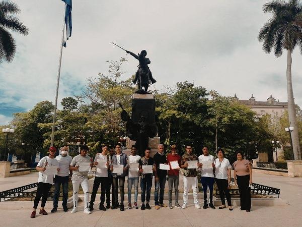 """Escuela de Oficios """"Francisco Sánchez Betancourt"""" gradúa a nuevos restauradores camagüeyanos (+ Fotos)"""