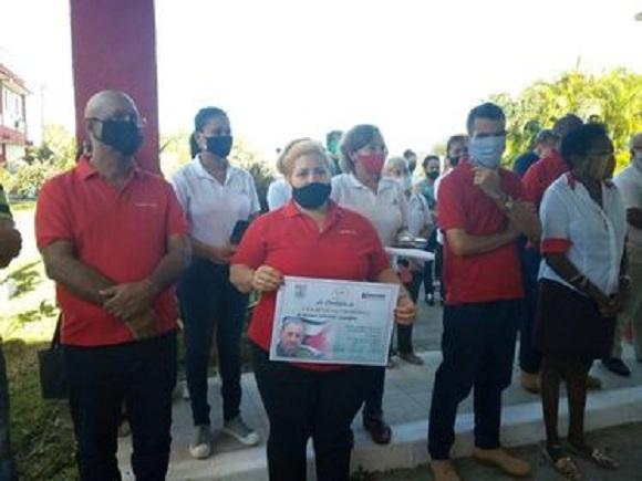 Recibe División Territorial Copextel Camagüey condición Colectivo Victoria
