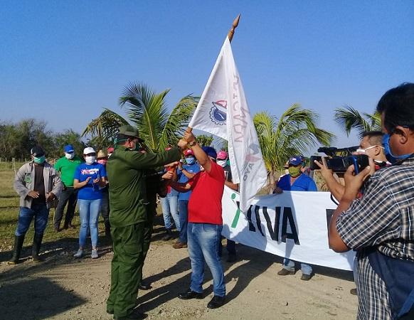 Instan en municipio camagüeyano de Céspedes a incrementar la producción de alimentos (+ Fotos)