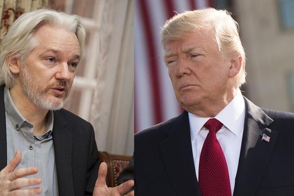 Revelan en Londres que Trump quiere encerrar a Assange para mantenerlo callado