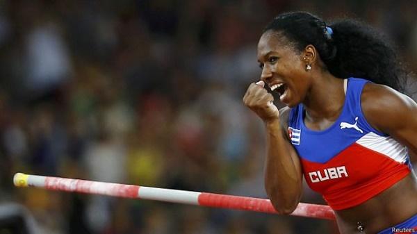 Cubana Yarisley Silva, segunda en Grecia y la mira en Barranquilla