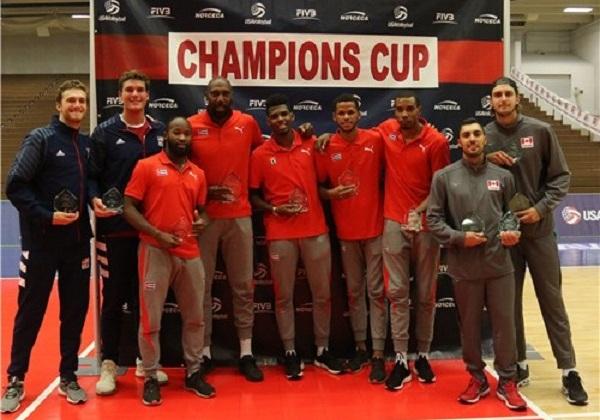 Cuba con cinco hombres en el Todos Estrellas de Copa de Campeones NORCECA