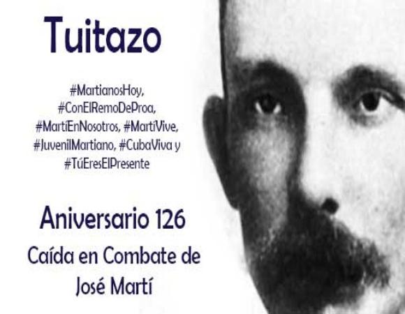 Tuitazo gigante retumbará hoy en el ciberespacio en homenaje a José Martí (+ Video)