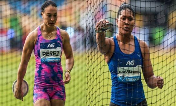 Discóbolas cubanas compiten hoy en Liga del Diamante de atletismo en Doha