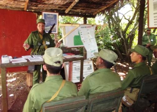 Camagüeyanos se preparan para la defensa territorial