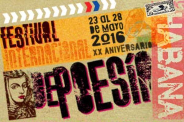 Cuba acoge el XX Festival Internacional de Poesía