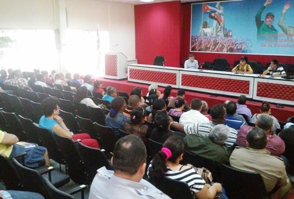 Ratifican delegados camagüeyanos compromiso con cita partidista