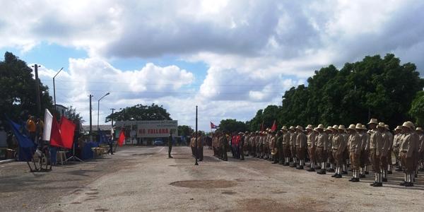Ejército Juvenil del Trabajo en Camagüey listo para la zafra azucarera