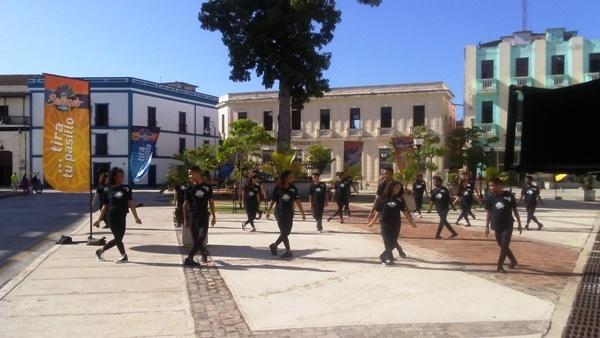 Bailando en las calles camagüeyanas para toda Cuba (+Fotos)