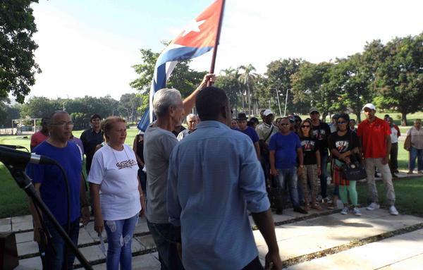Rumbo a Camagüey brigada artística de Santiago de Cuba