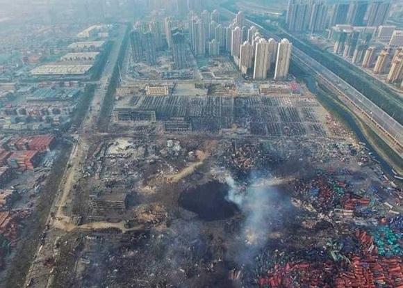 Seis heridos y 30 graves críticos por explosión de planta química en China