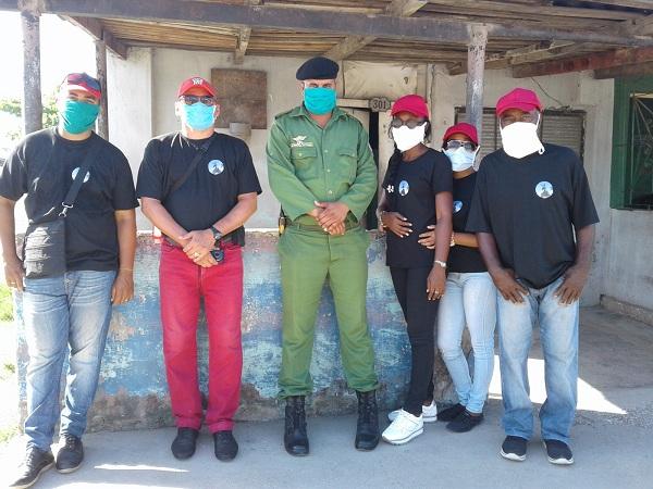Destacamentos de Vigilancia Revolucionaria en Camagüey enfrentan indisciplinas sociales