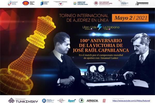 Virtual chess match will pay tribute to José Raúl Capablanca