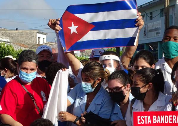 Los camagüeyanos en la Plaza para preservar la Libertad (+ Fotos)