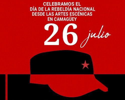 Artistas de Camagüey se suman a celebraciones por el 26 de Julio